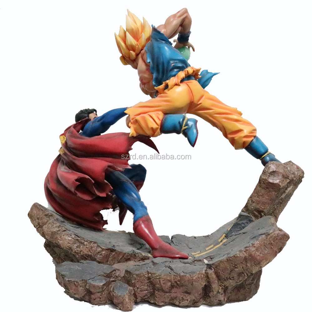 OEM dragon ball z/ Son Goku plastic action figure, resin figure for dragon ball