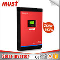 MUST 5KVA Pure Sine Wave Off Grid Hybrid Solar Inverter 5KVA 4000W Inverter with 80A MPPT solar charger