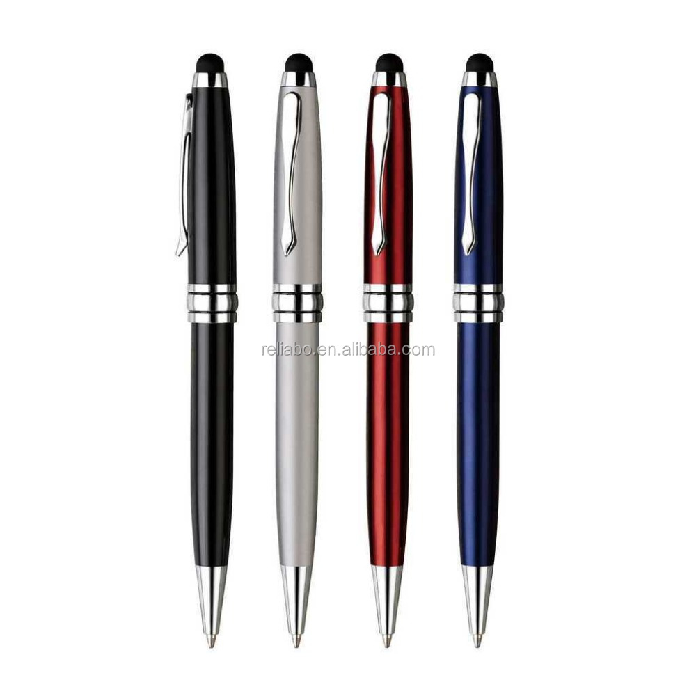 2015 stationery products metal stylus pen