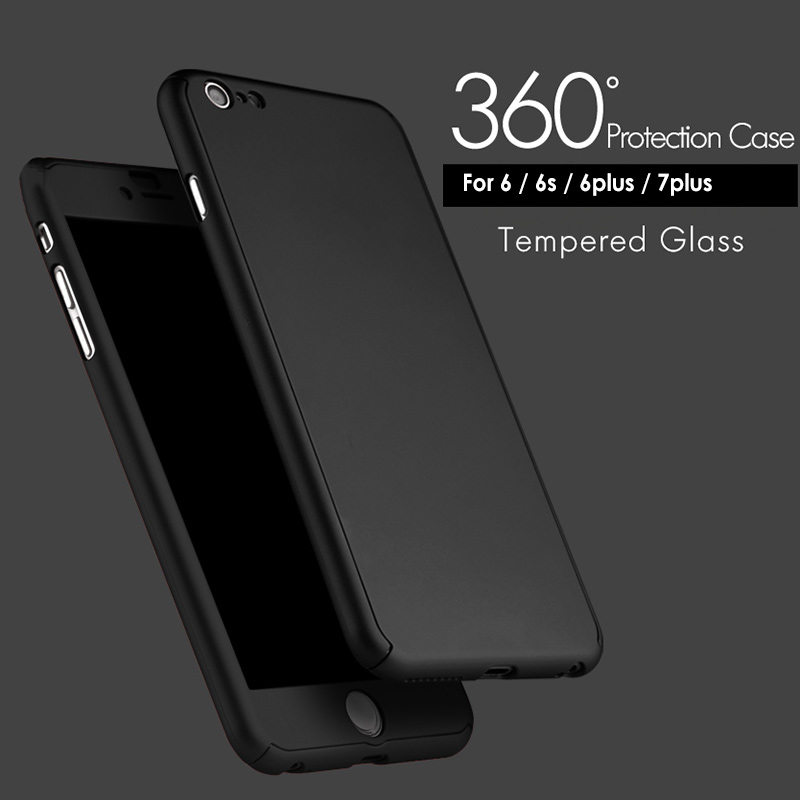 L/C payment 360 all-inclusive phone case for iPhone6 6plus 7 7plus creative fashion back cover for iphone6 6plus 7 7plus