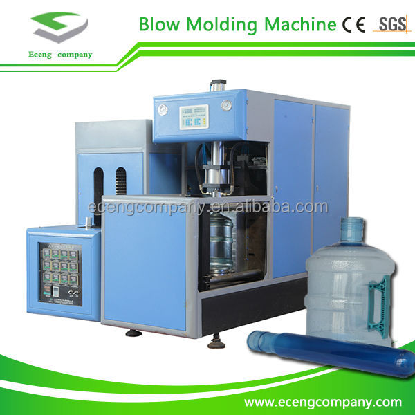 semi automatic plastic bottle making machine/5 gallon pet machine