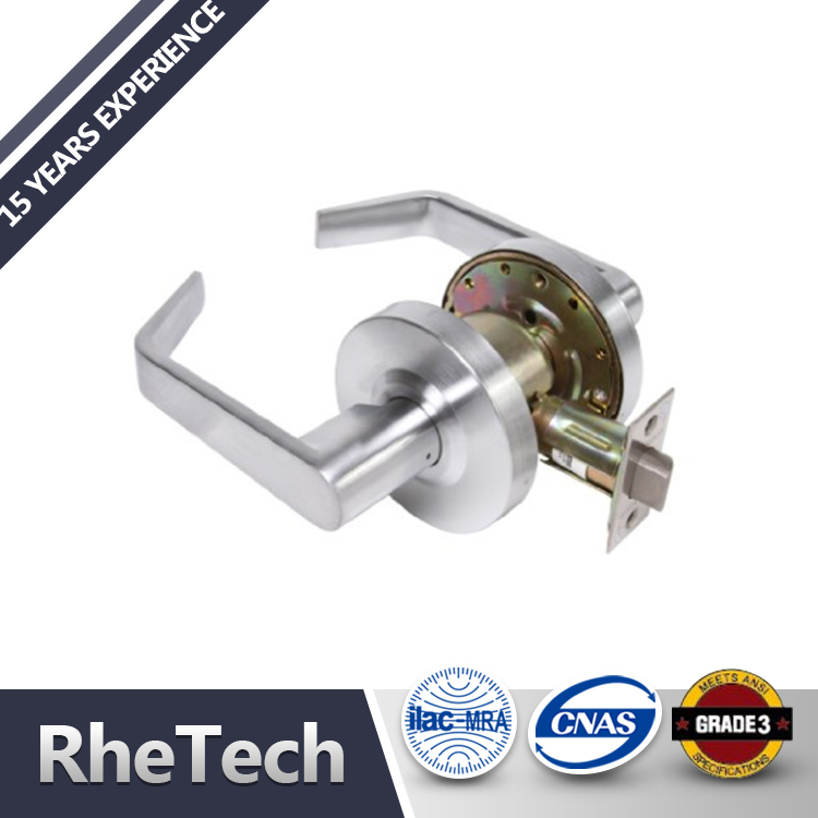 Factory made manufacturer china heavy duty commercial ANSI grade 2 lever handle set door lock