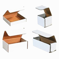 white corrugated box, corrugated box for grapes packing