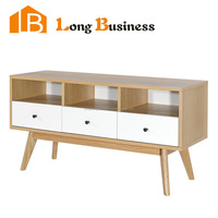 LB-AL5416 Top Quality Modern TV stand, Wooden l Shaped TV Cabinet with Showcase