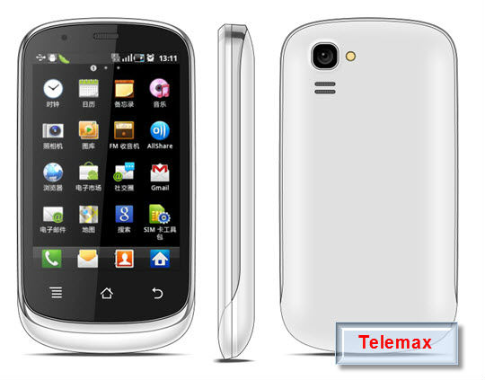 3.5 inch GPS Smart Mobil Phone - dual SIM cards and camera