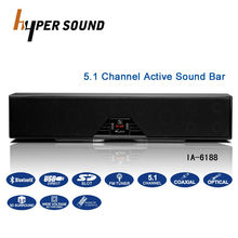 Active theater system 5.1 bluetooth subwoofer home