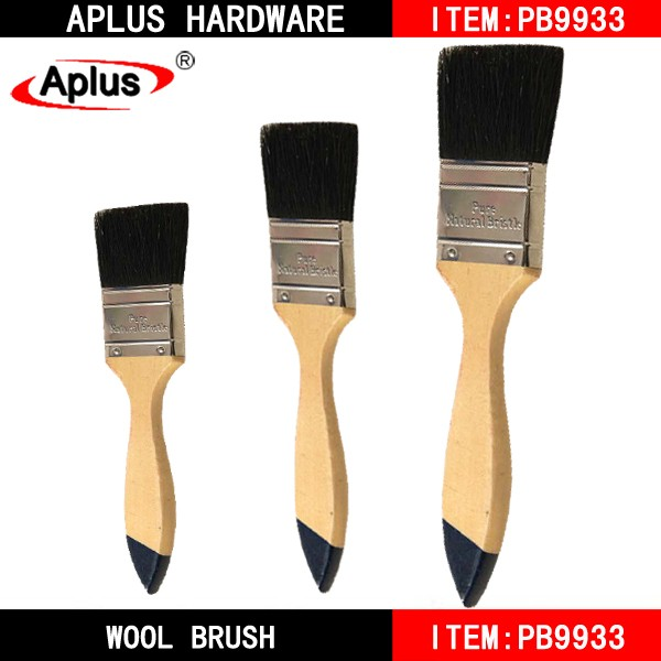 best Free sample paint brushes, The Middle East hot sell decorative beech wooden or plastic handle as seen the picture