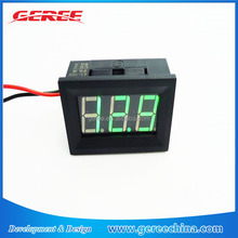 4.5-150V DC Green Digital Voltmeter Vehicle Motors Car Battery Panel Volt Meter