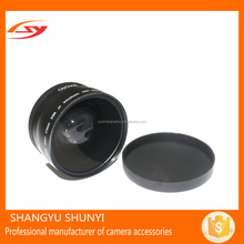 ShunYi Manufacturer OEM 58mm Camera Lens 0.43X HD Macro Wide Angle Lens