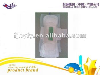 High absorbency night use 270mm anion sanitary napkin
