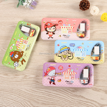 Creative customized cartoon multifunction school office stationery set for kid