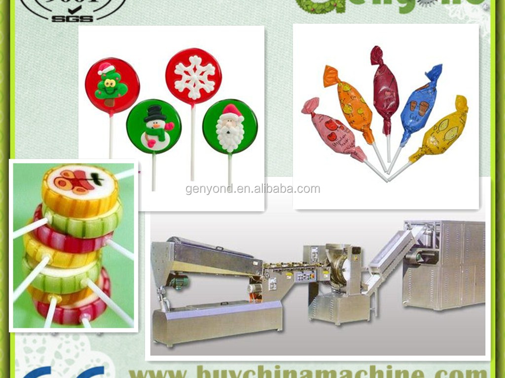 Two Layers Plastic flat Lollipop Packing Machine