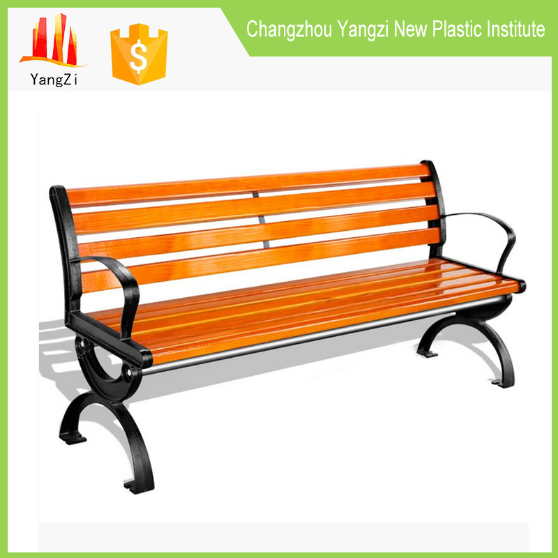 Armrest and backrest bench contemporary outdoor furniture clearance