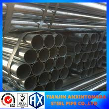 threaded head galvanizing steel tube!galvanized tube with round hollow section!gi steel pipe,tube