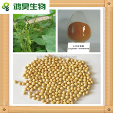 Natural Soybean Isoflavones wholesale, Pure Soybean extract 40% Soybean Isoflavones in bulk