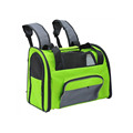 Soft Sided Travel Shoulder Bag Pet Backpack Carrier