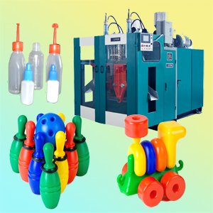 Supply shampoo bottle fully automatic hollow blow molding machine