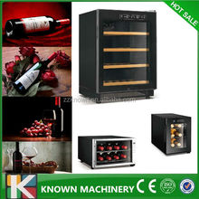 wide application in restaurant bar restaurant hotel decor wine cooler/led wine cooler