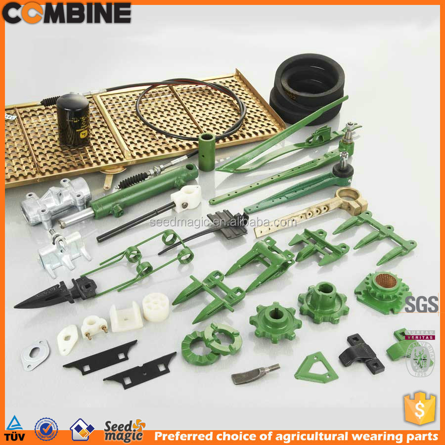 Parts for John Deere combine harvester