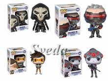 (Top Quality)Overwatch PVC pop 10cm Action Figure,Christmas gifts,Collectible overwatch pop figures
