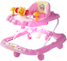 fashion popular plastic China wholesale outdoor new model baby walker