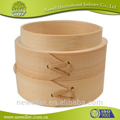 2014 Low price kitchen steamer promotional commercial bamboo steamer set