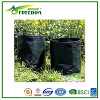 Tree planting plastic bags,woven fabric grow bags