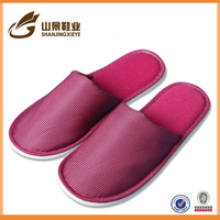 new style silpper any color velour material hotel slipper