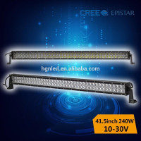 4d led light bar 240w high lumen,led driving lamp for truck 4x4 off road