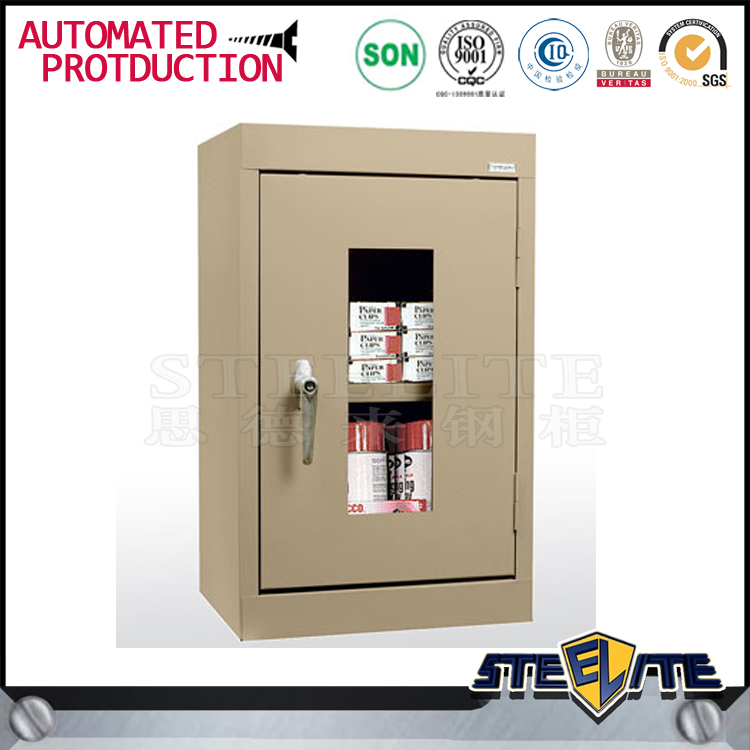 Home furniture bathroom metal wall medical cabinet with handle