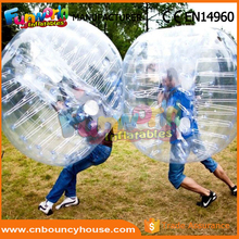 Inflatable bumper bopper body zorb bubble football shop