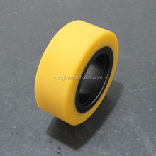 CPUGL high wear resistant driven pulley polyurethane wheel NDI product with nature color