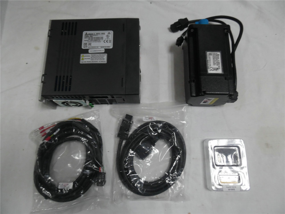 ECMA-C10807RS+ASD-A2-0721-M 2.39NM 3000r/min 80mm 220V 750W delta ac servo motor kits with 3M cable