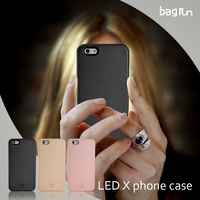 No logo about lumee phone case for iphone with ios cable charging 300mha li battery