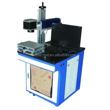 high precision NC-FM1010 fiber laser marking machine/ iphone laser engraving machine
