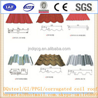 Steel Fashion Glazed Roof / Roofing Tile 780/970/860