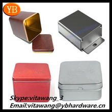 china professionl manafacture cute small metal cigarette tin box