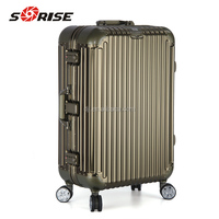 high quality newest Aluminum travelling luggage Case with OEM serives