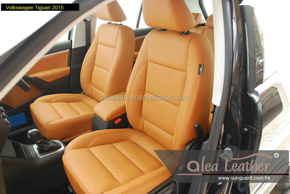 High quality customized Italian leather car seat cover for VOLKSWAGEN TIGUAN