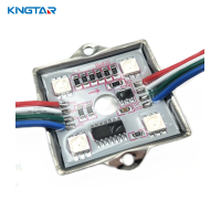 Intelligent 4 LEDs rgb full color led display module