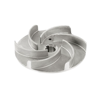 Investment Casting Centrifugal Turbine Impeller