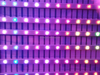 HHX led line light 5050 smd waterproof full color aluminum led strip for sign
