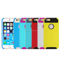 PC + TPU Hybrid Case Cover With Logo Hold For Apple iPhone 6 4.7""