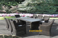 Outdoor Patio Wicker Furniture - Dinning Furniture