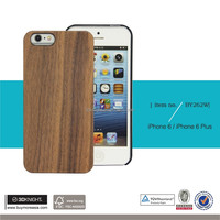 Wholesale mobile phone natural wood case for iphone 6, phone case for iphone 7