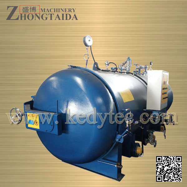 Electric Heating Water Vulcanzing Autoclave