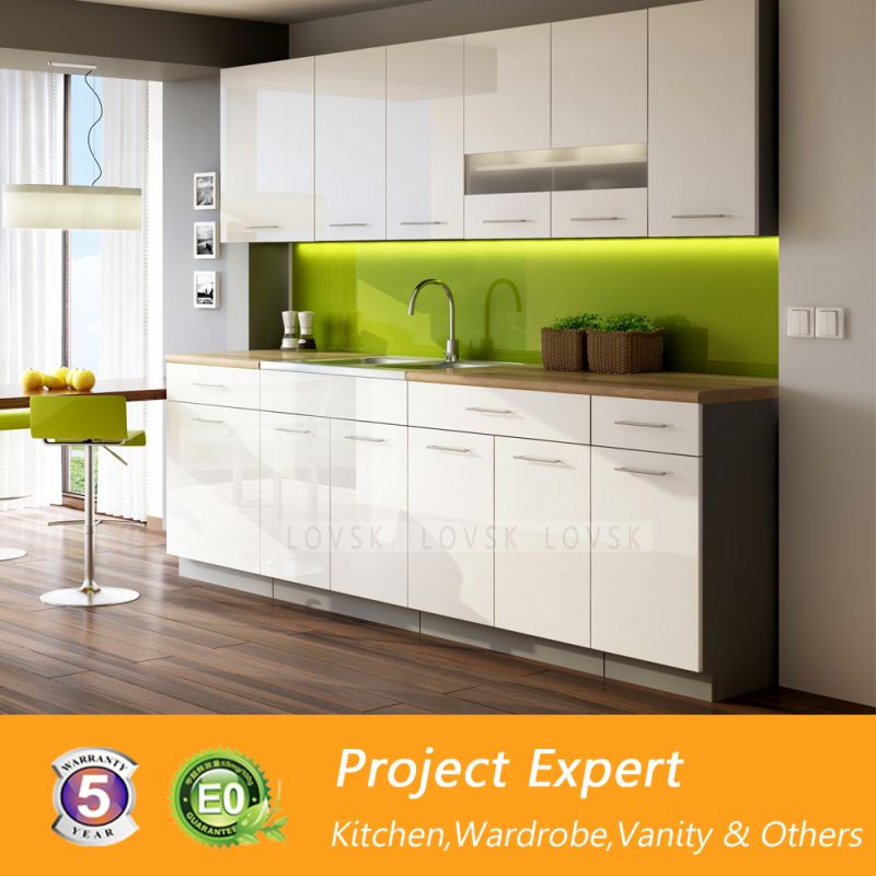 Mauritius modulated termite proof kitchen cabinets