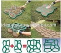 plastic concrete pavement mould DIY garden tools for making a pathway