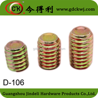 New launched products safety inside hex nut bolt screw / Furniture fitting combination anchor bolt