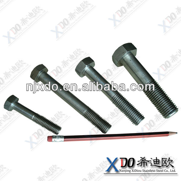 Hastelloy C276 C22 C4 hardware fastener stainless steel nuts bolts screw making machines